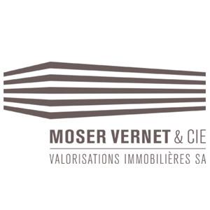 Logo MOSER VERNET & CIE, VALORISATIONS IMMOBILIERES SA