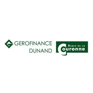 Logo GEROFINANCE-DUNAND SA