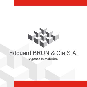 Logo BRUN ÉDOUARD & Cie SA, Agence Immobilière